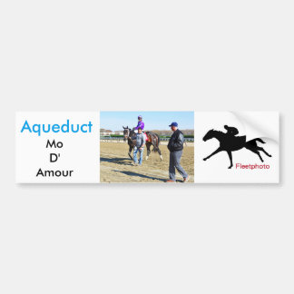 Mo D'Amour by Uncle Mo Bumper Sticker