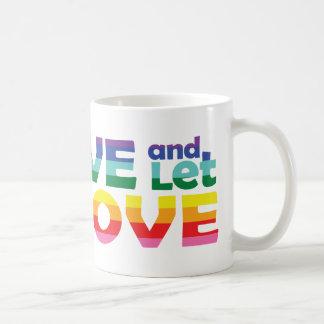 MO Live Let Love Coffee Mug
