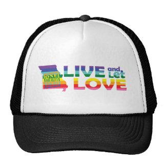 MO Live Let Love Mesh Hats