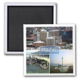 MO * Macao Magnet