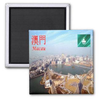 MO - Macao - Nam Van Lake Magnet