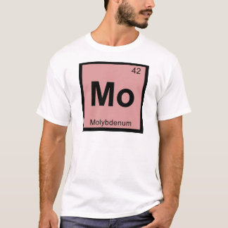 Mo - Molybdenum Chemistry Periodic Table Symbol T-Shirt