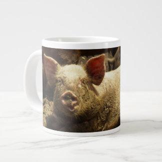 MO: Ste Genevieve, pig farm Giant Coffee Mug