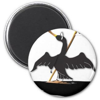 Mo the Cormorant Magnet