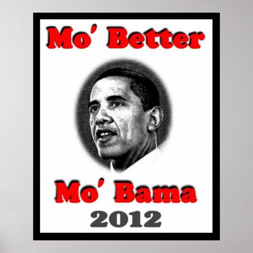 Mo un mejor Mo Bama 2012 Posters