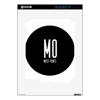 Mo Wifey Points Gear iPad 2 Decal