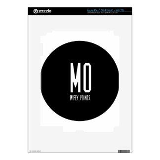 Mo Wifey Points Gear iPad 3 Skin