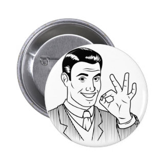 Mo Wifey Points Swag Pinback Button