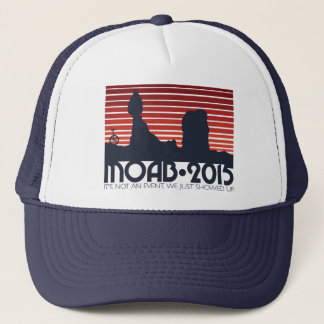MOAB 2015 RED v3 Trucker Trucker Hat