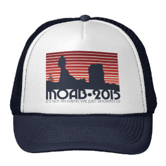 MOAB 2015 RED v3 Trucker Trucker Hat