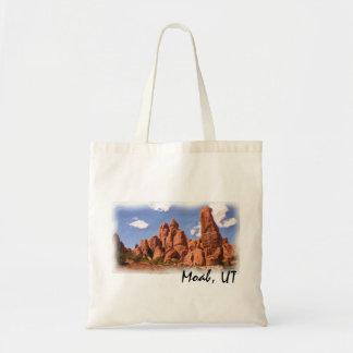 Moab, bolso reutilizable de UT Bolsa Tela Barata