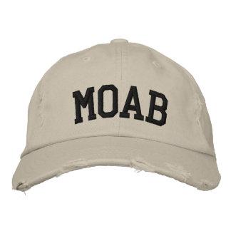 Moab bordó el gorra gorro bordado