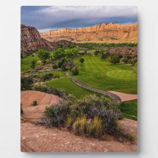 Moab Desert Canyon Golf Course at Sunrise Plaque