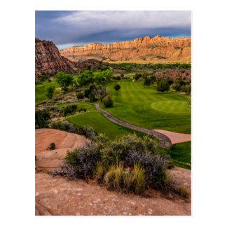 Moab Desert Canyon Golf Course at Sunrise Postcard