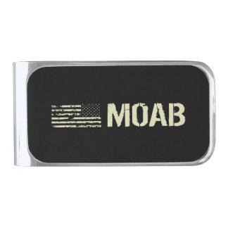 Moab Silver Finish Money Clip
