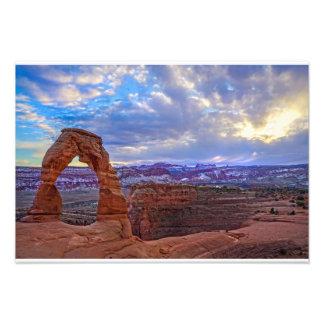 Moab Utah - arco delicado Fotografía