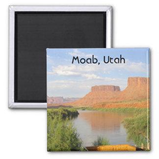 Moab, Utah 2 Inch Square Magnet
