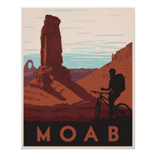 Moab, Utah Poster at Zazzle