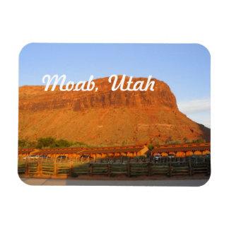 Moab, Utah Rectangular Photo Magnet