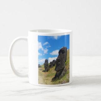 Moai at Rano Raraku Easter Island Coffee Mug