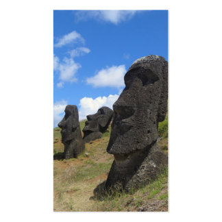 Moai at Rano Raraku, Easter Island Double-Sided Standard Business Cards (Pack Of 100)