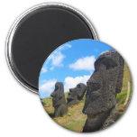 Moai at Rano Raraku Easter Island Magnet