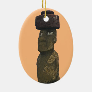 Moai Christmas Ornament 1