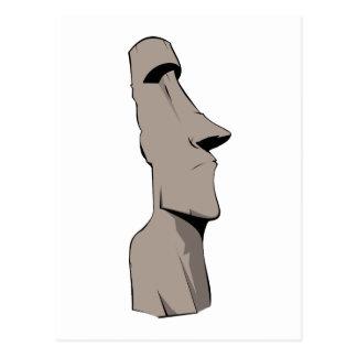 Moai (Easter Island) Statue Postcard
