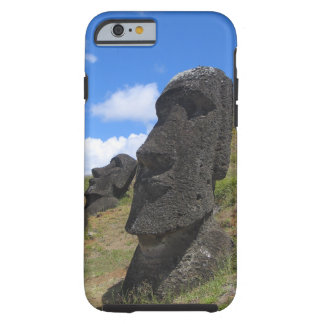 Moai en la isla de pascua funda para iPhone 6 tough
