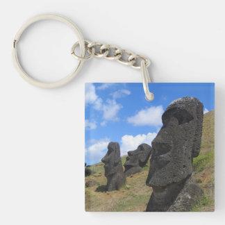 Moai en Rano Raraku, isla de pascua Llaveros