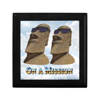 Moai en una misión 2 - productos de Mult Caja De Joyas