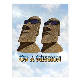 Moai en una misión 2 - productos de Mult Postal