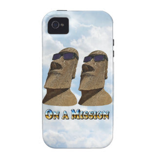 Moai On A Mission 2 - Mult Products Vibe iPhone 4 Cover