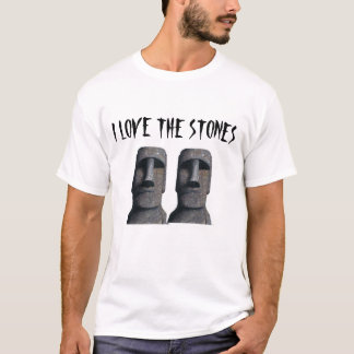 Moai on a shirt