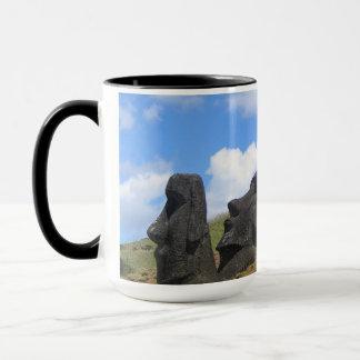 Moai on Easter Island Mug