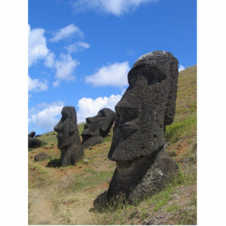 Moai on Easter Island Statuette