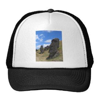 Moai on Easter Island Trucker Hat