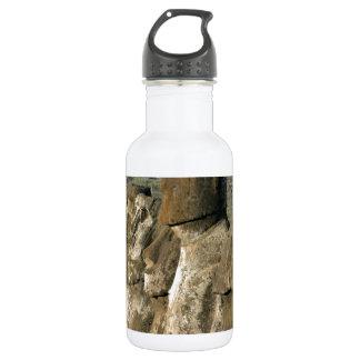 Moai statues Rapa Nui (Easter Island) Stainless Steel Water Bottle