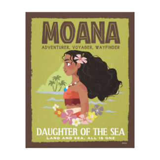 Moana | Adventurer, Voyager, Wayfinder Canvas Print