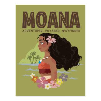 Moana | Adventurer, Voyager, Wayfinder Postcard