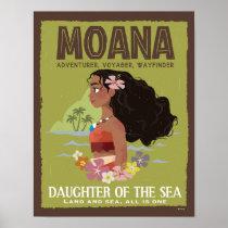 Moana | Adventurer, Voyager, Wayfinder Poster
