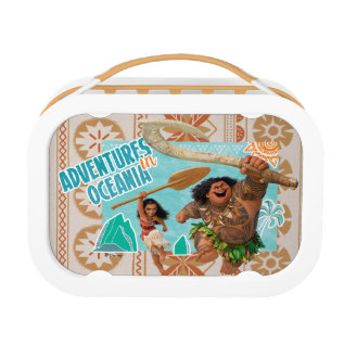 Moana | Adventures In Oceania Lunch Box at Zazzle