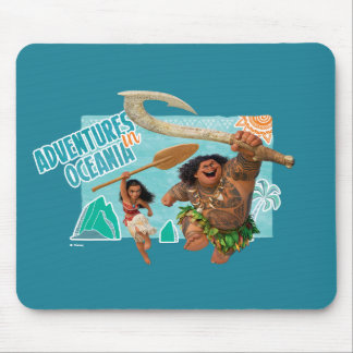 Moana | Adventures In Oceania Mouse Pad