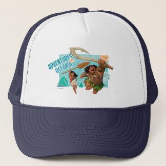 Moana   Adventures In Oceania Trucker Hat