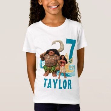 birthday Moana | Birthday T-Shirt