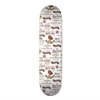 Moana | Bold Adventurer Pattern Skateboard Deck