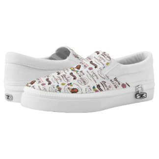 Moana | Bold Adventurer Pattern Slip-On Sneakers