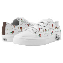 Moana | Born to be in the Ocean Pattern Low-Top Sneakers