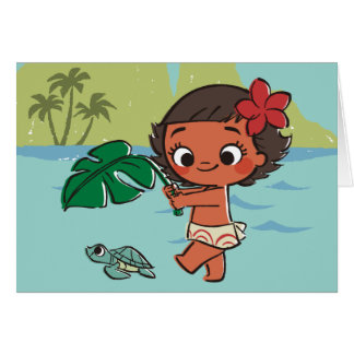 Moana | Born to be in the Sea Card