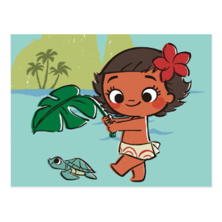 Moana | Born to be in the Sea Postcard